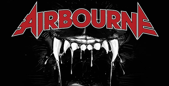 AVANT-PREMIERE AIRBOURNE : ECOUTEZ LE NOUVEL ALBUM BLACK DOG BARKING