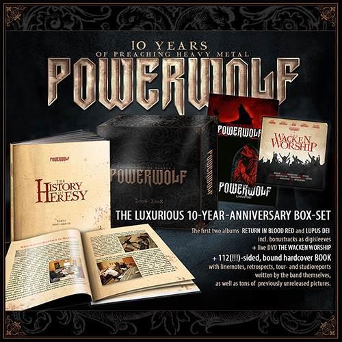 POWERWOLF Powerwolfboxset2014