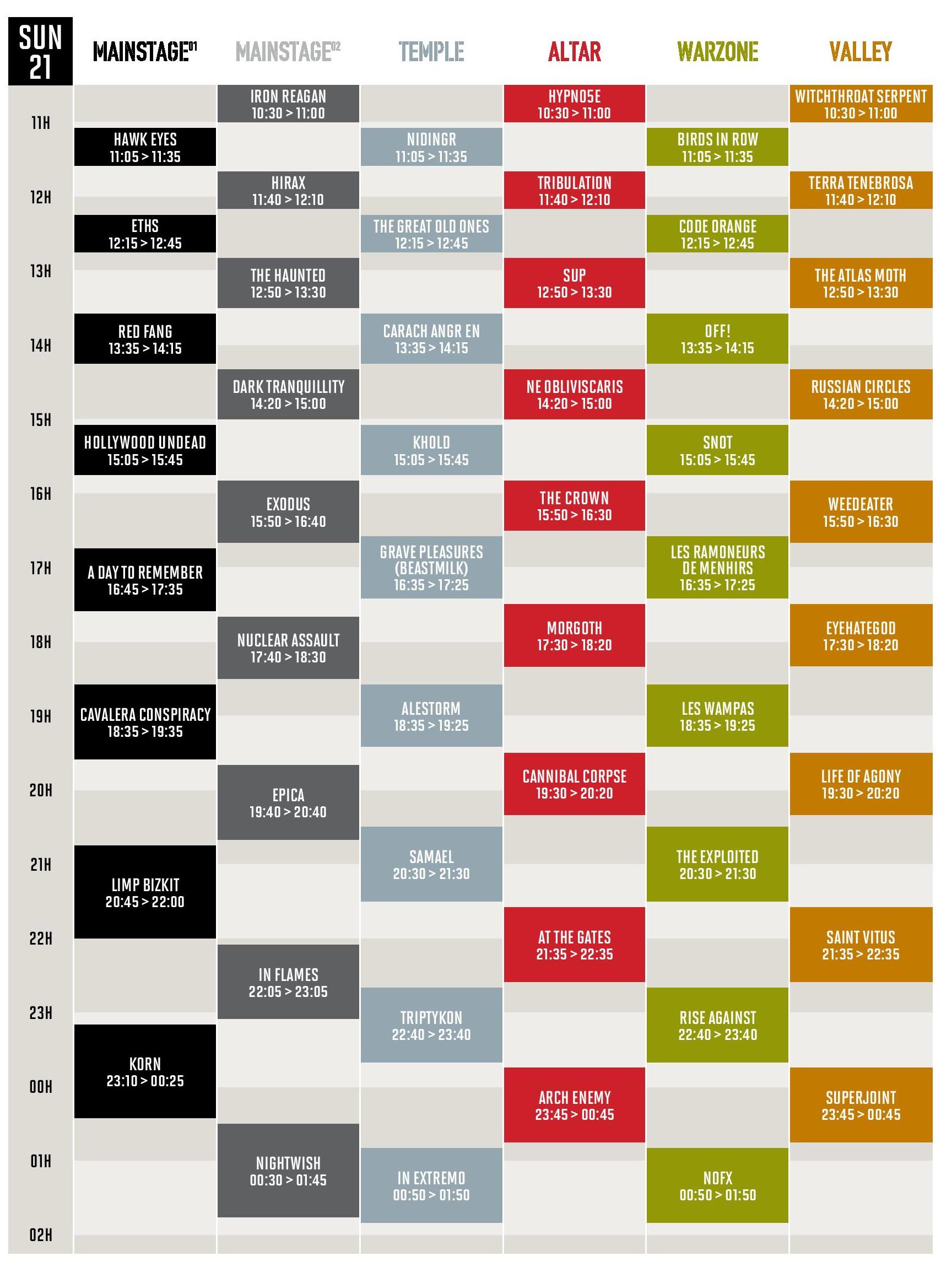 Hellfest 2015 Running-order-dimanche-hellfest-2015