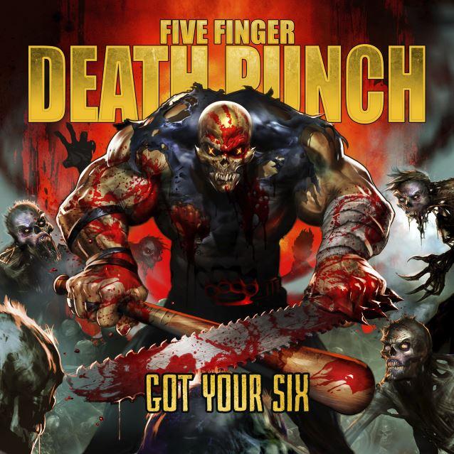 Five Finger Death Punch Fivefingerdeathpunchgotyoursixcd