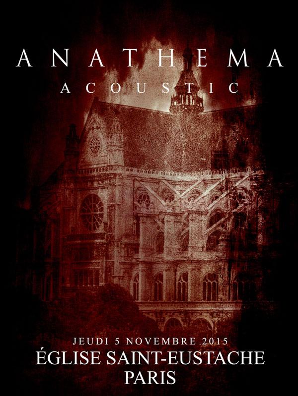 Anathema @ Saint-Eustache 2015
