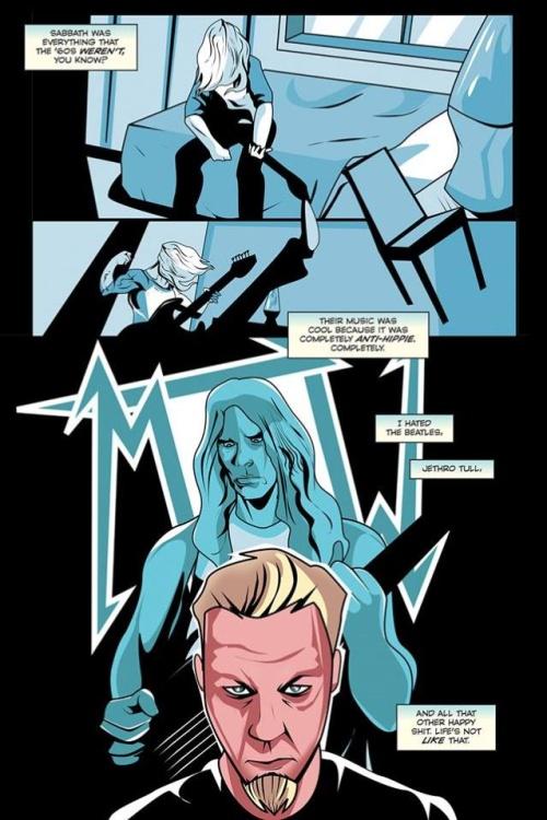 metallica comic 6