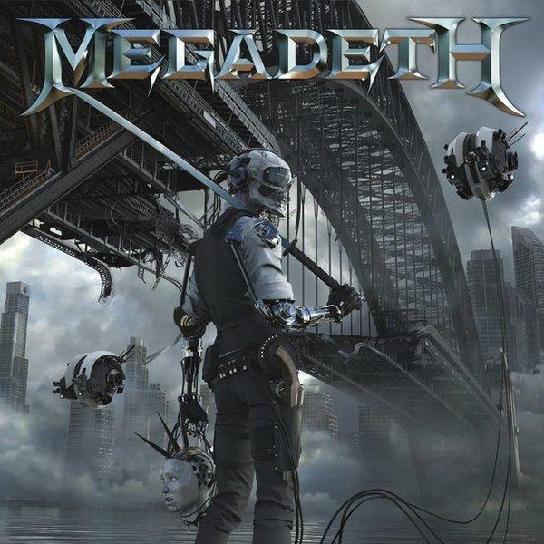 "MEGADETH  ""Dystopia""  (JAN 2016) Megadethdystopiacd"