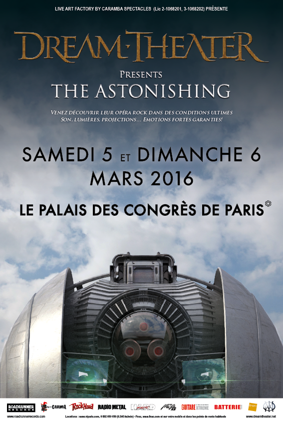 DREAM THEATER - The Astonishing Dt