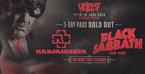 FIL ROUGE : REVIVEZ LE HELLFEST OPEN AIR 2016