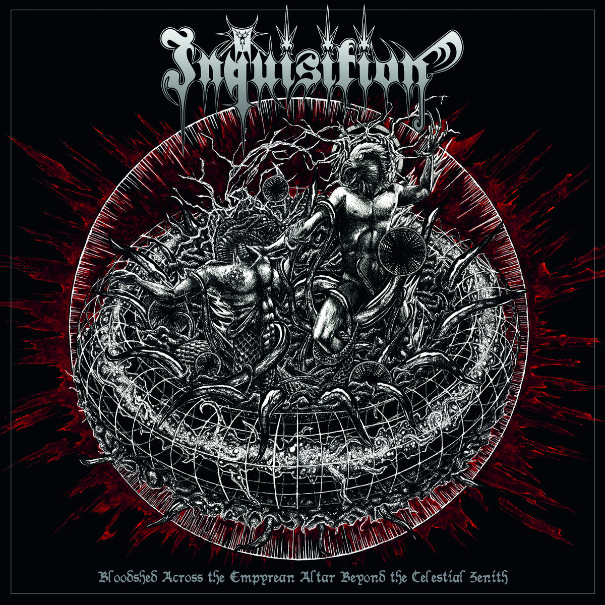 Inquisition - Bloodshed Across The Empyrean Altar Beyond The Celestial Zenith