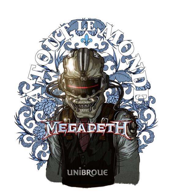 Megadeth beer