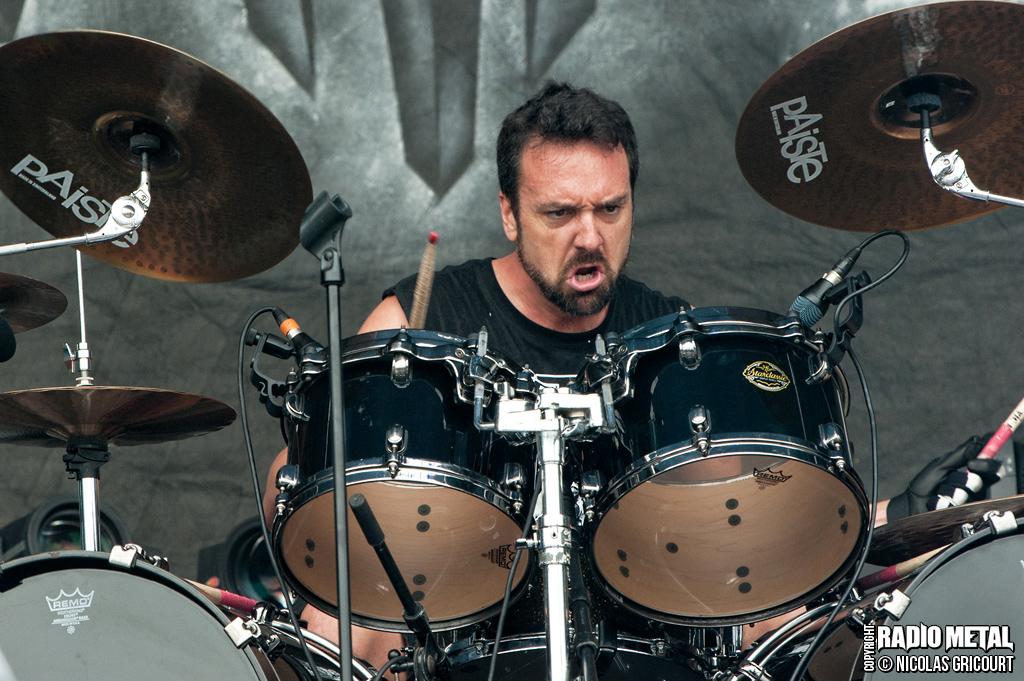 Jon Dette with Heathen, Hellfest 2013
