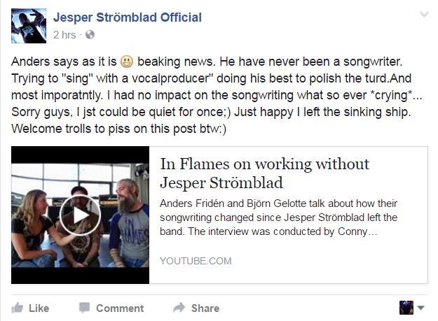 Jesper / In Flames