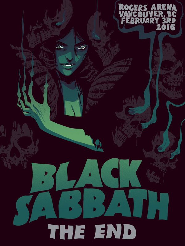 Black Sabbath by Becky Cloonan