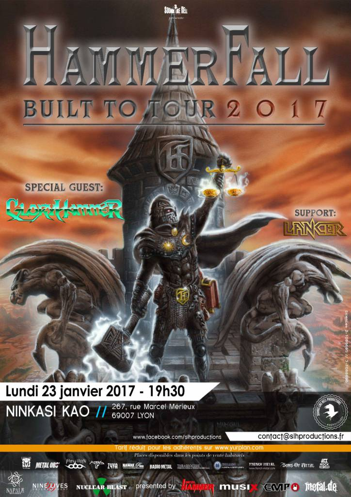 Hammerfall Lyon 2017