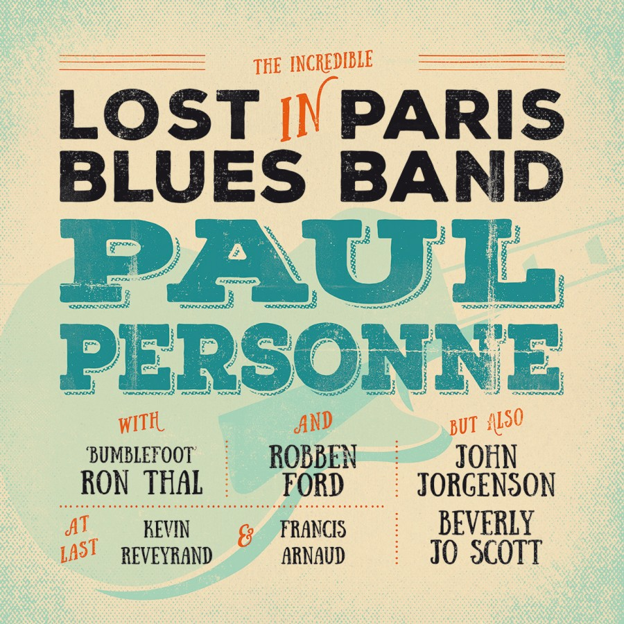 Paul Personne - Lost In Paris Blues Band