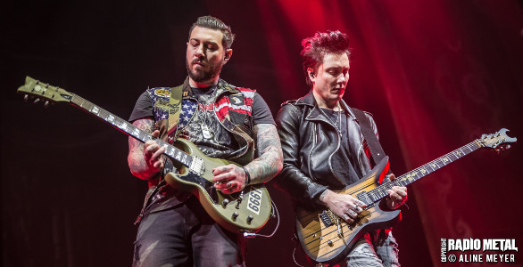 LIVE REPORT AVENGED SEVENFOLD / DISTURBED / IN FLAMES À LONDRES