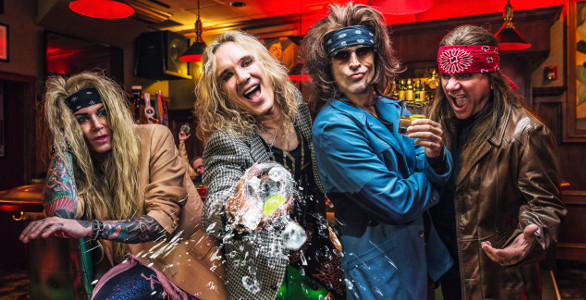 STEEL PANTHER : INTERVIEW DE SATCHEL