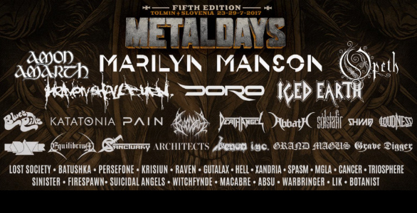 LIVE REPORT : METALDAYS