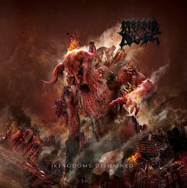ANGLE MORBID - Kingdoms Disdained (1er Décembre) Morbidangelkingdomscd