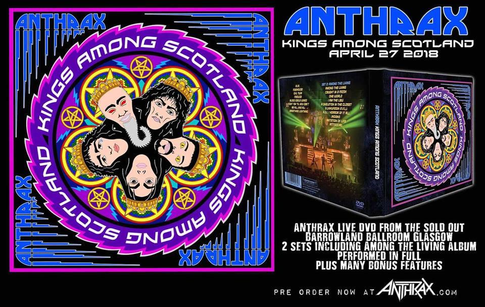 ANTHRAX dévoile une vidéo live de la chanson «Indians»