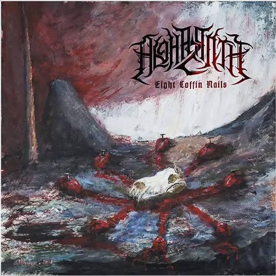 ALGHAZANTH : les détails du nouvel album Eight Coffin Nails ; Chanson «Facing The North» en écoute