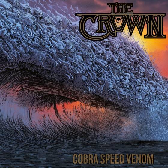 THE CROWN dévoile le clip vidéo de la chanson «Cobra Speed Venom»