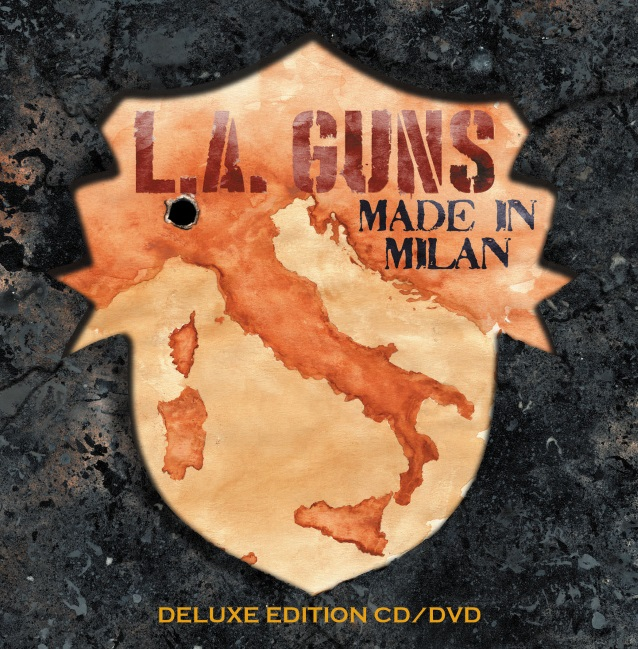 L.A. GUNS : les détails du nouveau CD/DVD live Made In Milan