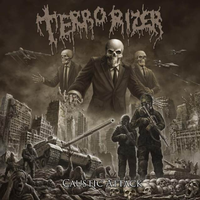 TERRORIZER : le nouvel album Caustic Attack en écoute intégrale