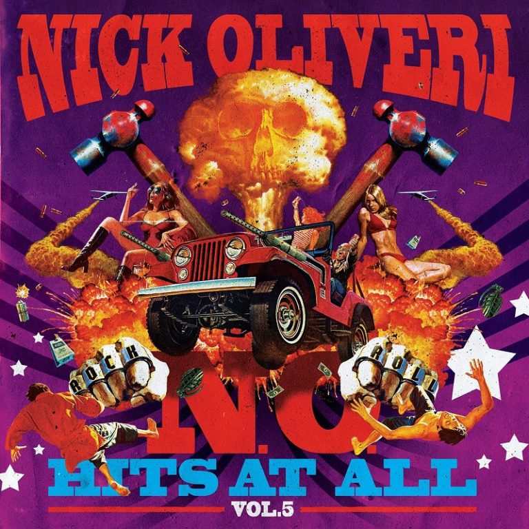 Nick Oliveri : la compilation N.O. Hits At All Vol. 5 en écoute intégrale