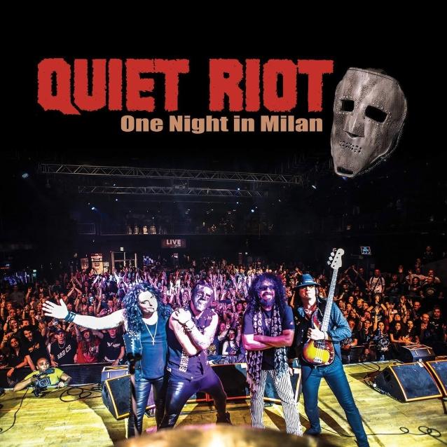 QUIET RIOT dévoile la vidéo live de la chanson «Condition Critical»