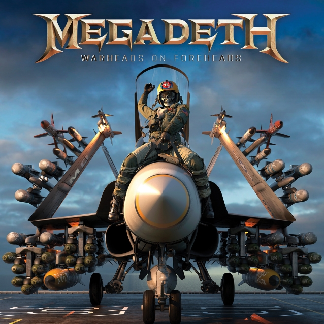 MEGADETH : les détails du best-of Warheads On Foreheads
