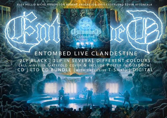 ENTOMBED dévoile la version live de la chanson «Stranger Aeons»