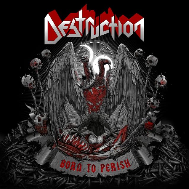 DESTRUCTION dévoile l'artwork du nouvel album Born To Perish