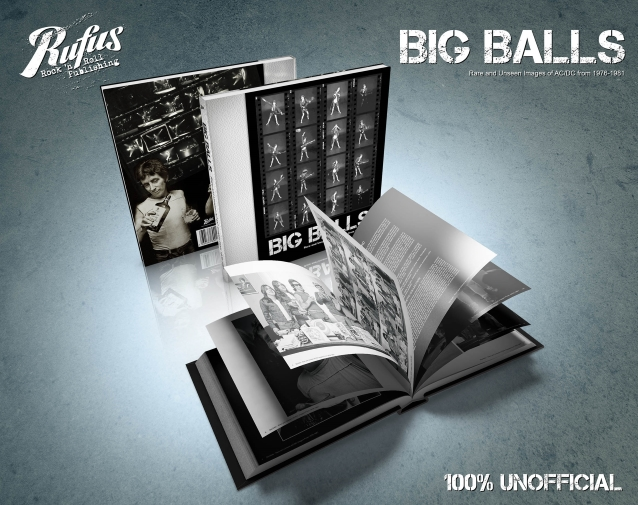 AC/DC : les détails du livre non-officiel de photos Big Balls – Rare And Unseen AC/DC Images From 1976-1981.