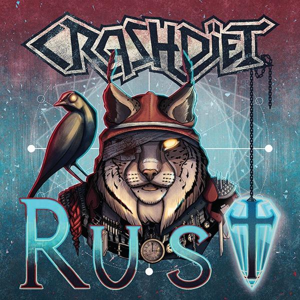 CRASHDÏET dévoile le clip vidéo de la chanson «Rust»