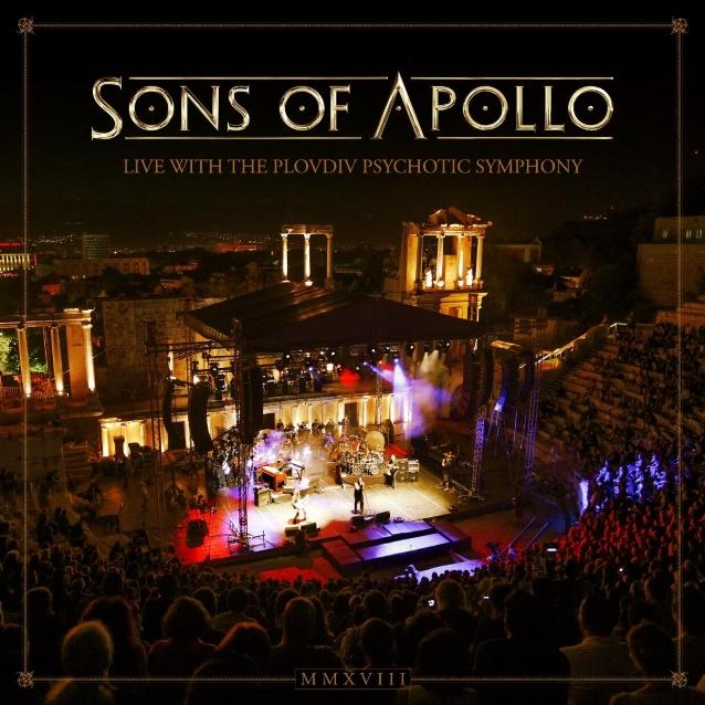 SONS OF APOLLO : les détails de l'album live Live with the Plovdiv Psychotic Symphony