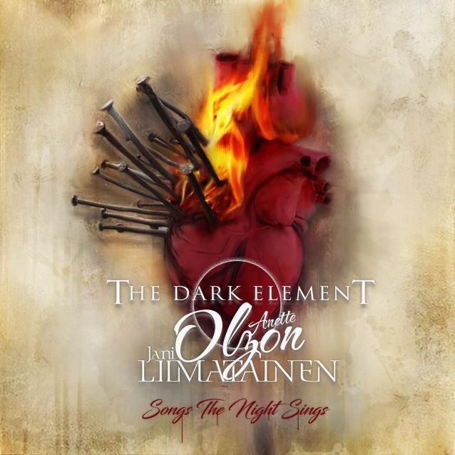 THE DARK ELEMENT (avec Anette Olzon et Jani Liimatainen) : les détails du nouvel album Songs The Night Sings