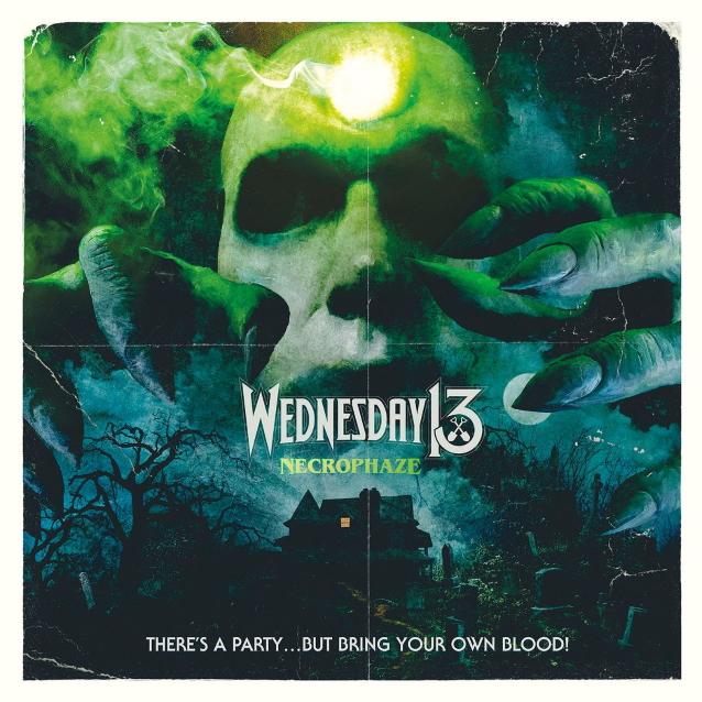 WEDNESDAY 13 dévoile la nouvelle chanson «Bring Your Own Blood»