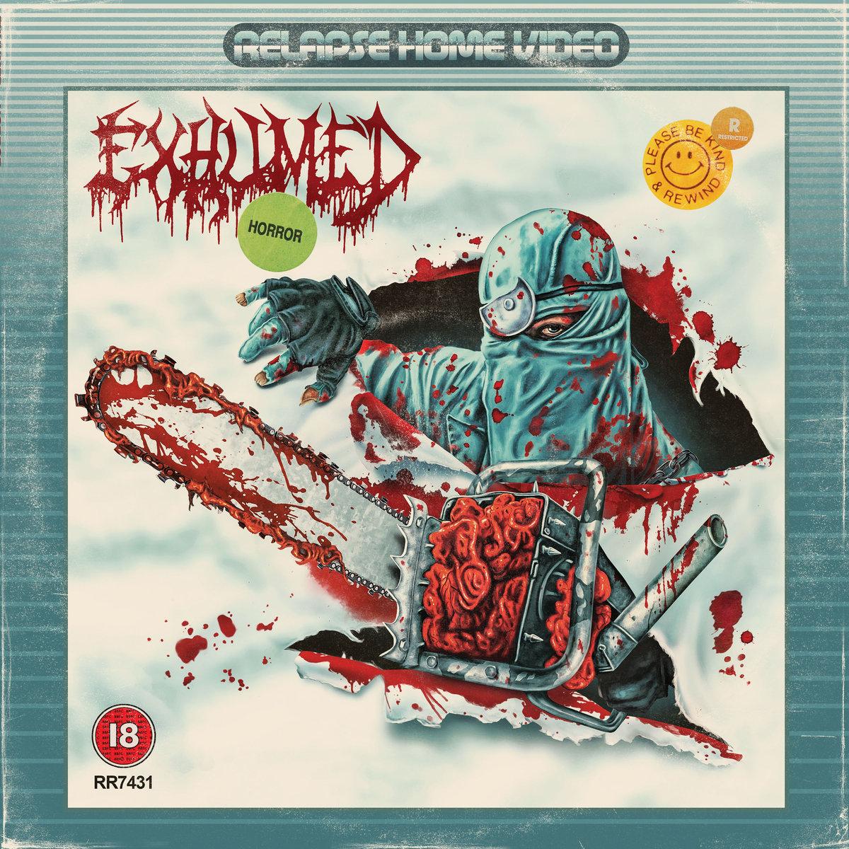 EXHUMED : le nouvel album Horror en écoute intégrale