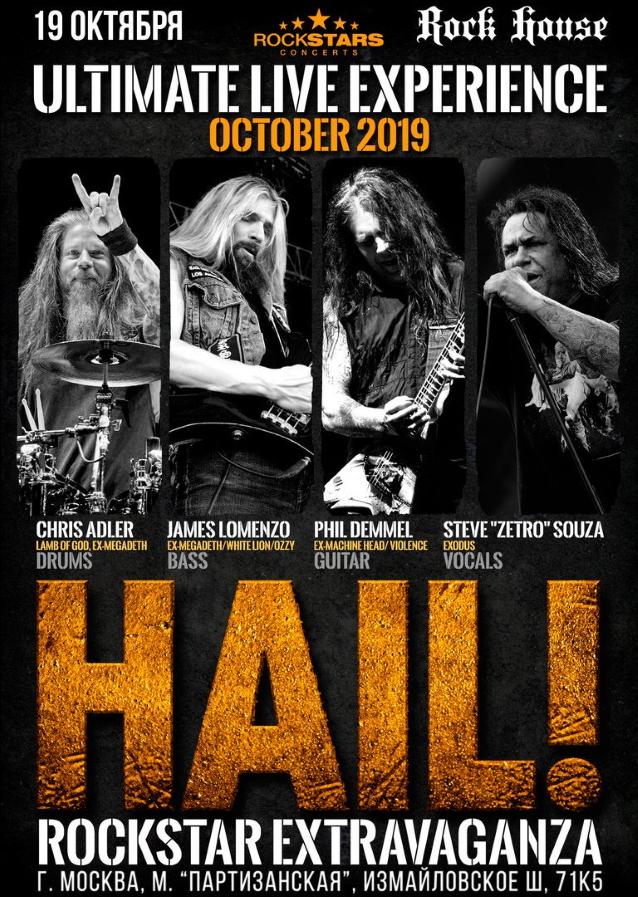 Le batteur Chris Adler intègre le projet HAIL!