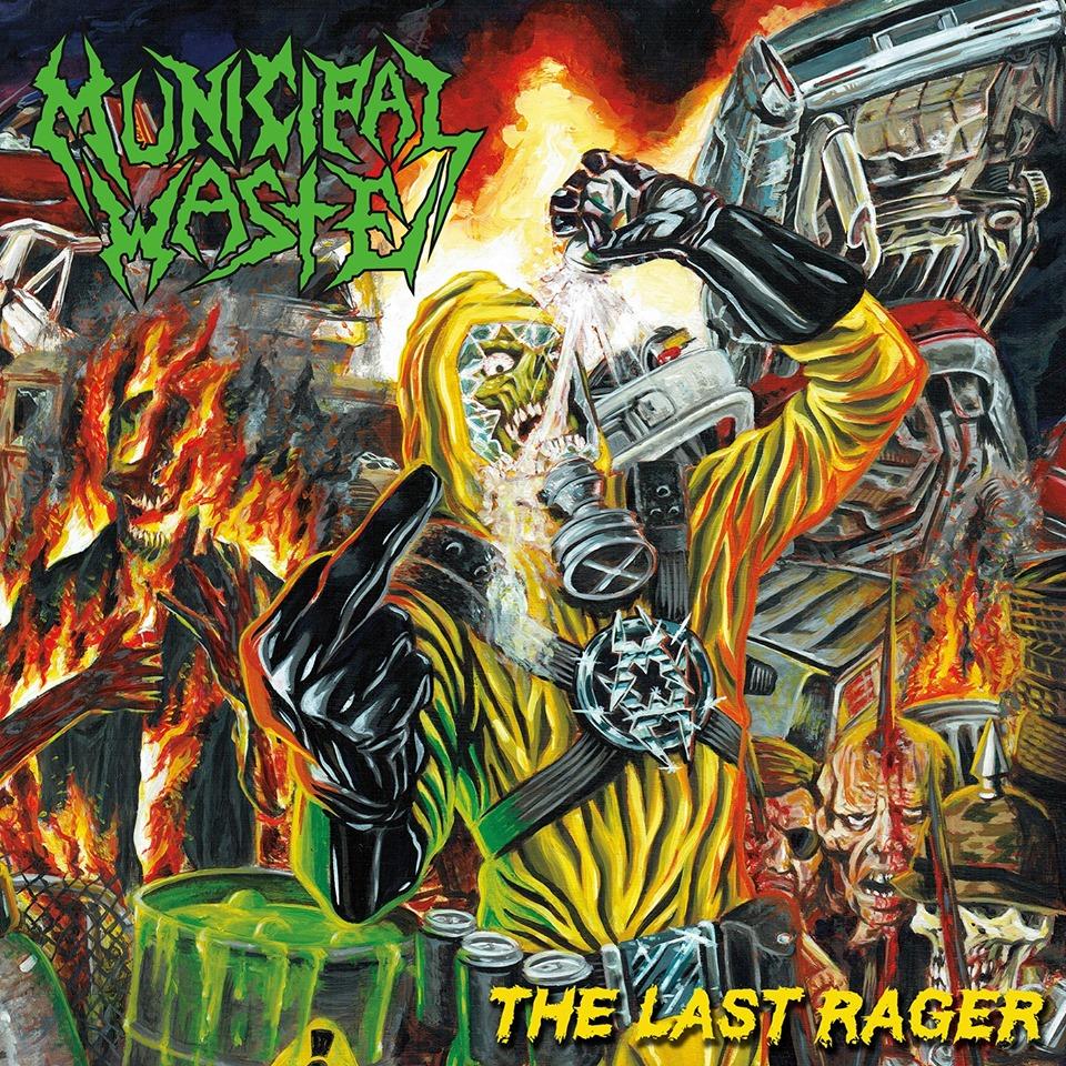 MUNICIPAL WASTE : les détails du nouvel EP The Last Rager ; clip vidéo de la chanson «Wave Of Death» dévoilé