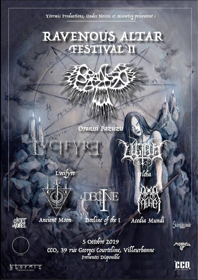 Le Ravenous Altar Festival communique sur son avenir