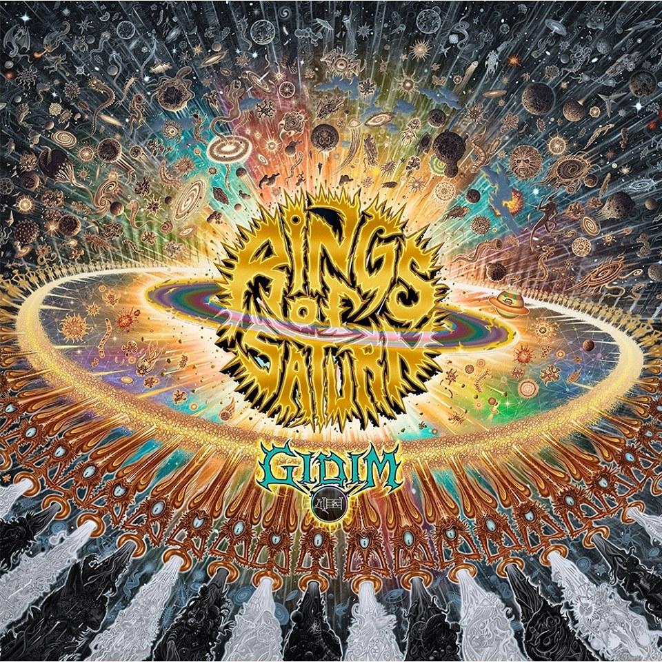 RINGS OF SATURN : les détails du nouvel album GIDIM ; clip vidéo de la nouvelle chanson «The Husk» dévoilé