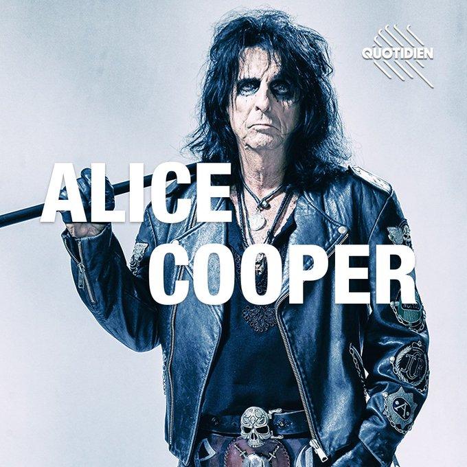 ALICE COOPER dans l'émission Quotidien ce soir