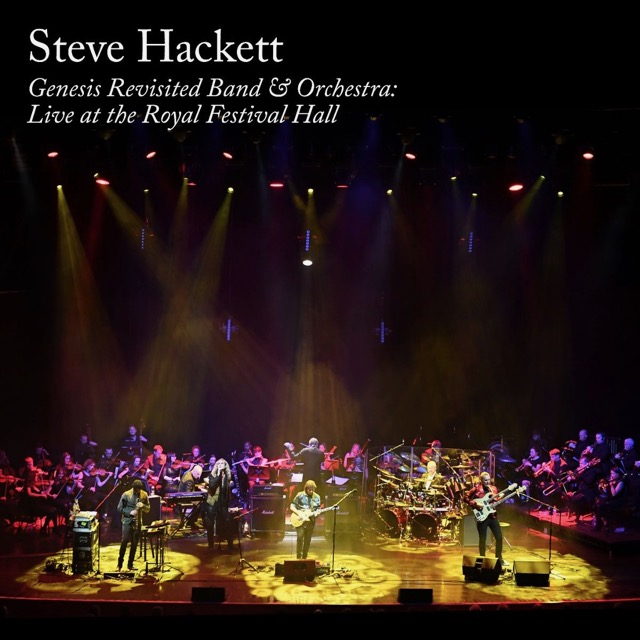 Steve Hackett (ex-GENESIS) : les détails du nouvel album live Genesis Revisited Band & Orchestra: Live At The Royal Festival Hall