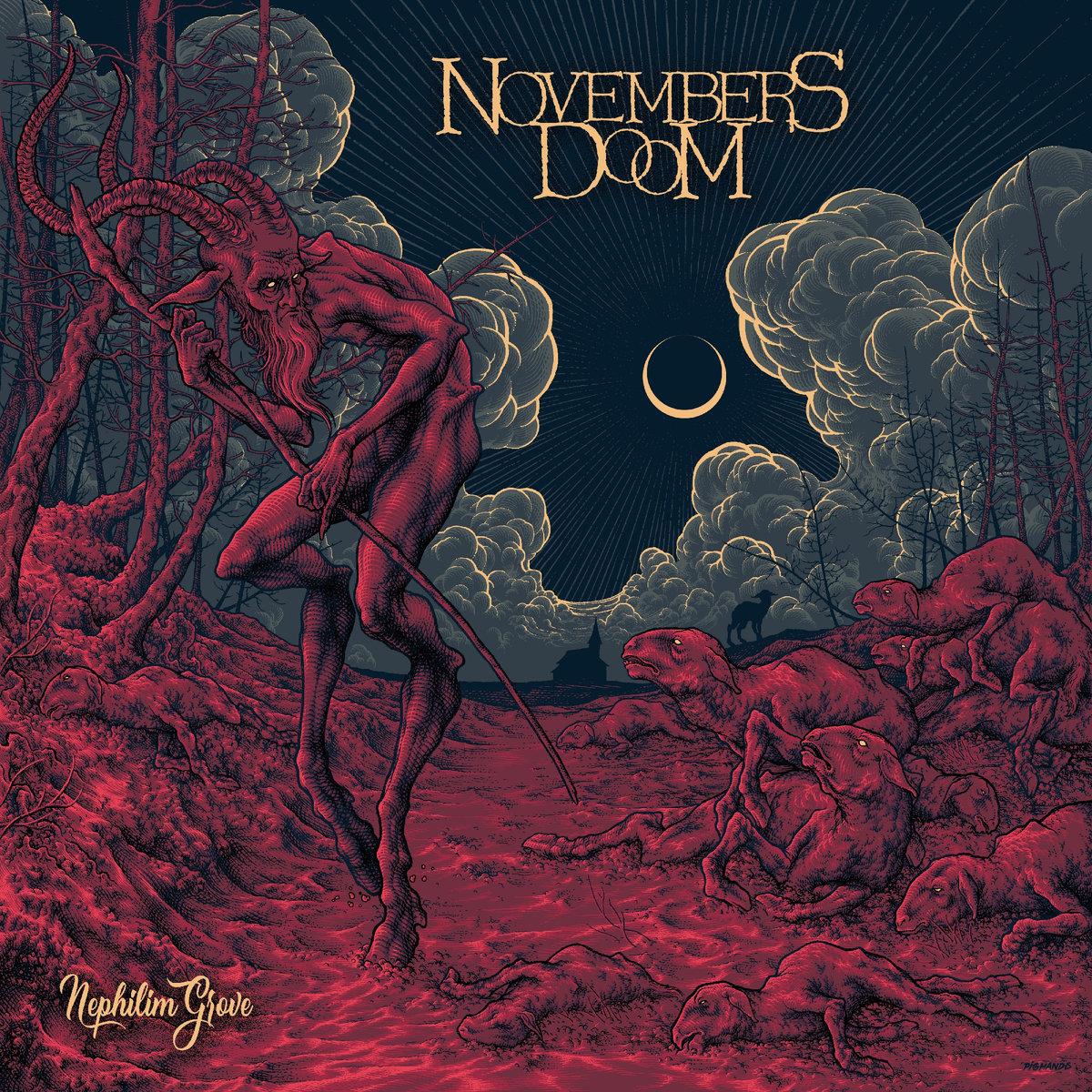 NOVEMBERS DOOM dévoile la lyric vidéo de la chanson «Nephilim Grove»