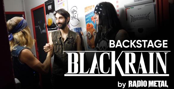 REPORTAGE VIDÉO : EN COULISSES AVEC BLACKRAIN