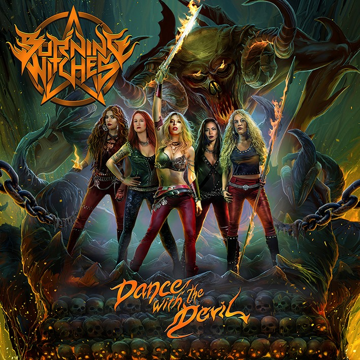 BURNING WITCHES dévoile le clip vidéo de la nouvelle chanson « Dance With The Devil »