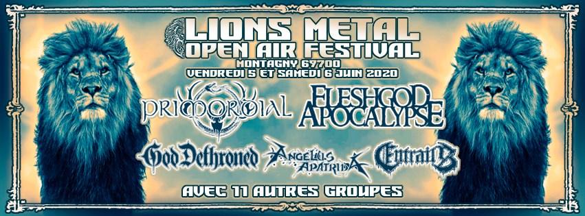 MAÏEUTISTE annoncé au Lions Metal Fest 2020