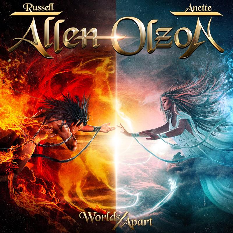 Anette Olzon (ex-NIGHTWISH, THE DARK ELEMENT) et Russell Allen (SYMPHONY X, ADRENALINE MOB) : les détails du premier album Worlds Apart ; lyric vidéo de la chanson éponyme