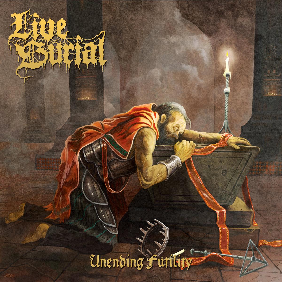 LIVE BURIAL : les détails du nouvel album Unending Futility ; chanson «Condemned To The Boats» dévoilée