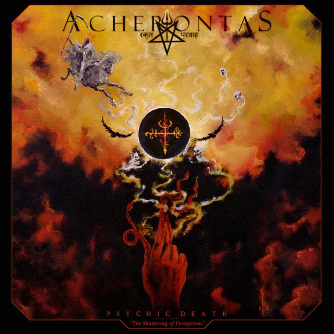 ACHERONTAS dévoile la nouvelle chanson «Psychic Death 'The Shattering Of Perceptions'»