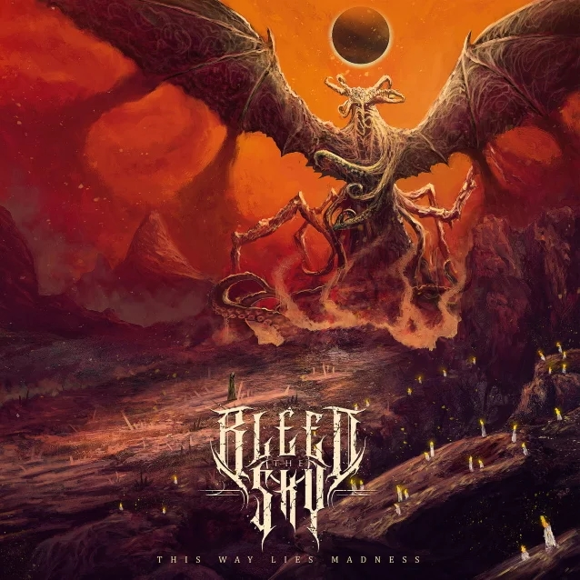 BLEED THE SKY : les détails du nouvel album This Way Lies Madness ; clip vidéo de la chanson «Serpent»